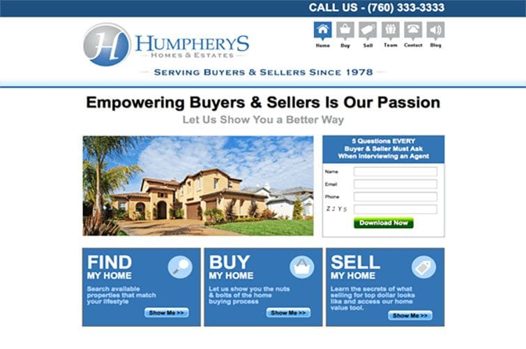 Humpherys Homes